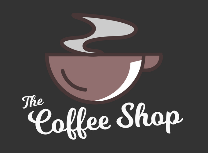 the coffee shop logo